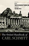 The Oxford Handbook of Carl Schmitt, Associate Professor Jens Meierhenrich (Germany & St Antony's 1995)