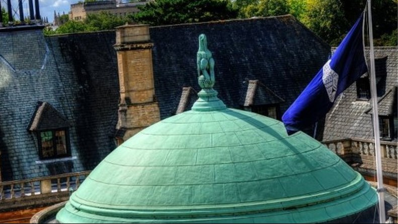 Green dome of Rhodes House