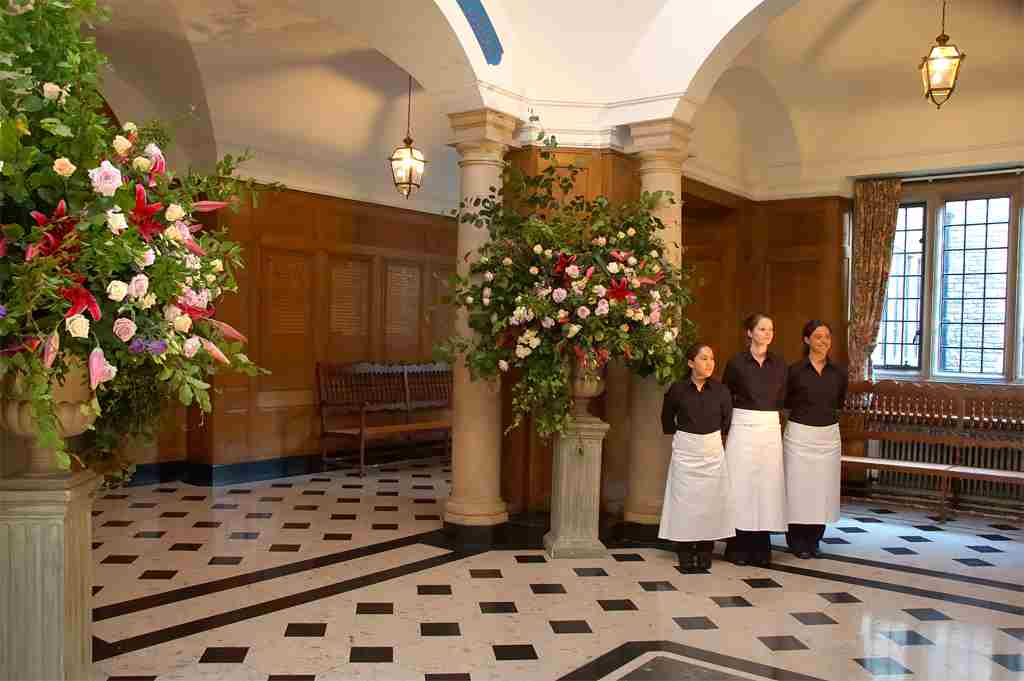 Catering Staff at Rhodes House