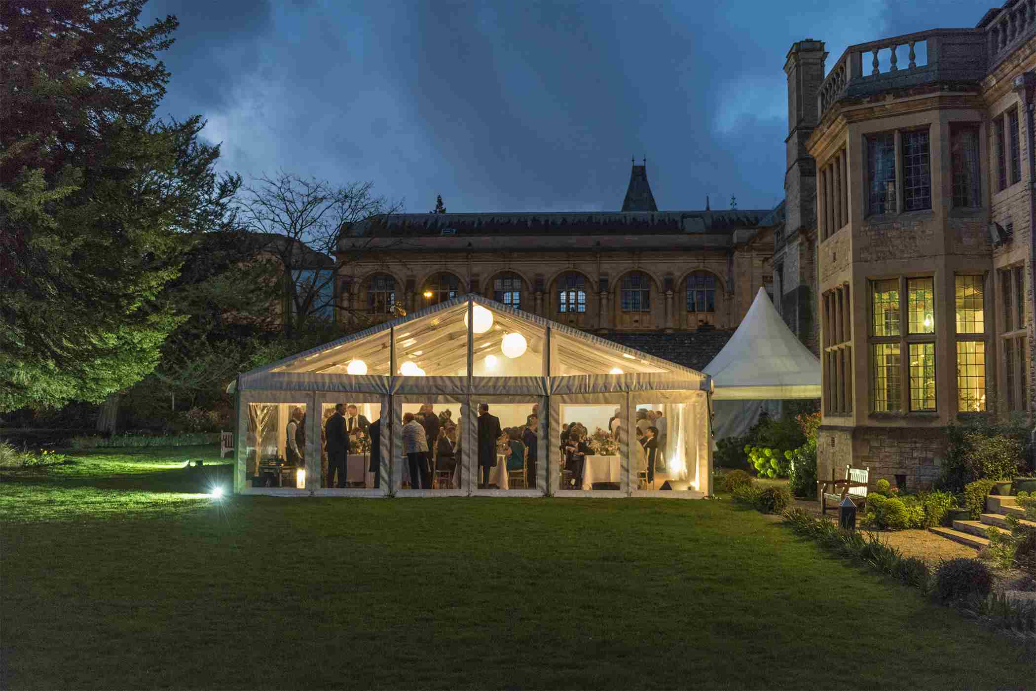 Marquee at Rhodes House