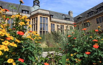 Courtyard at Rhodes House