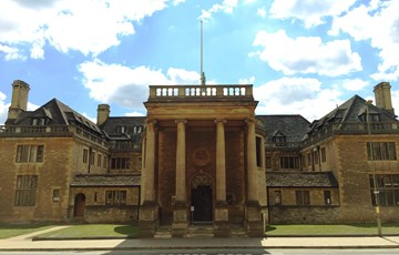 Front of Rhodes House