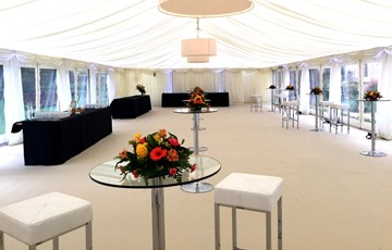 Refectory marquee