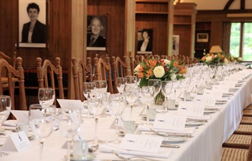 Private dinner in the Rosebery Room