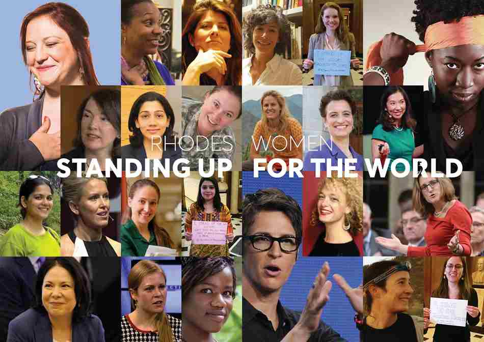 Standing up for the world collage