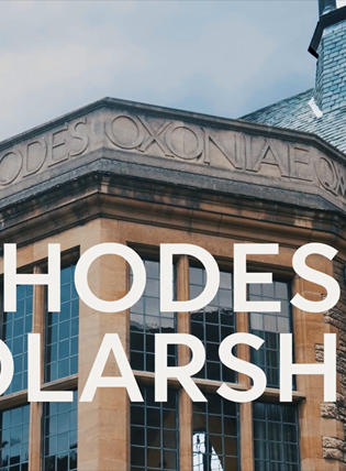 What on earth are the Rhodes Scholarships?)