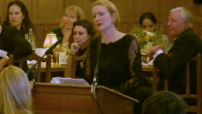 Video Screenshot - Coming Up Dinner 2017: Dame Helen Ghosh Speech