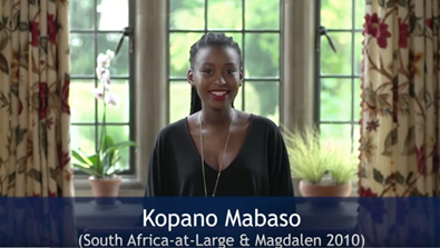 Video Screenshot -  The Impact of the Rhodes Scholarships