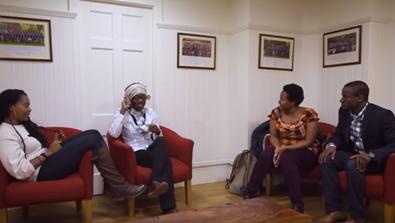 Video Screenshot - Black Association of Rhodes Scholars