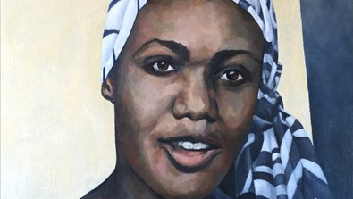 Video Screenshot - Rhodes Portrait Unveiling of Lucy Banda-Sichone
