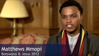 Video Screenshot - Matthews Mmopi (Botswana & Jesus 2012)