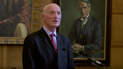 Video Screenshot - Bram Fischer Memorial Lecture 2015 by Justice Edwin Cameron