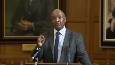 Video Screenshot - Bram Fischer Memorial Lecture 2017 by Mr Sipho M. Pityana