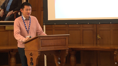 Video Screenshot - Jung Kian Ng (Malaysia & Oriel 2017) speech at Welcome Day 2018
