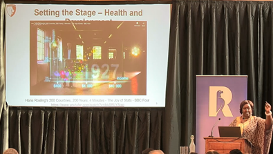 Video Screenshot - Dr Agnes Binagwaho - Keynote Speech, Rhodes Healthcare Forum 2019