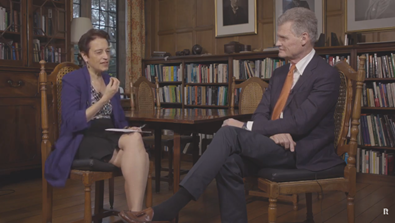 Video Screenshot - Rhodes Ahead: Professor Sir John Bell GBE FRS Interview