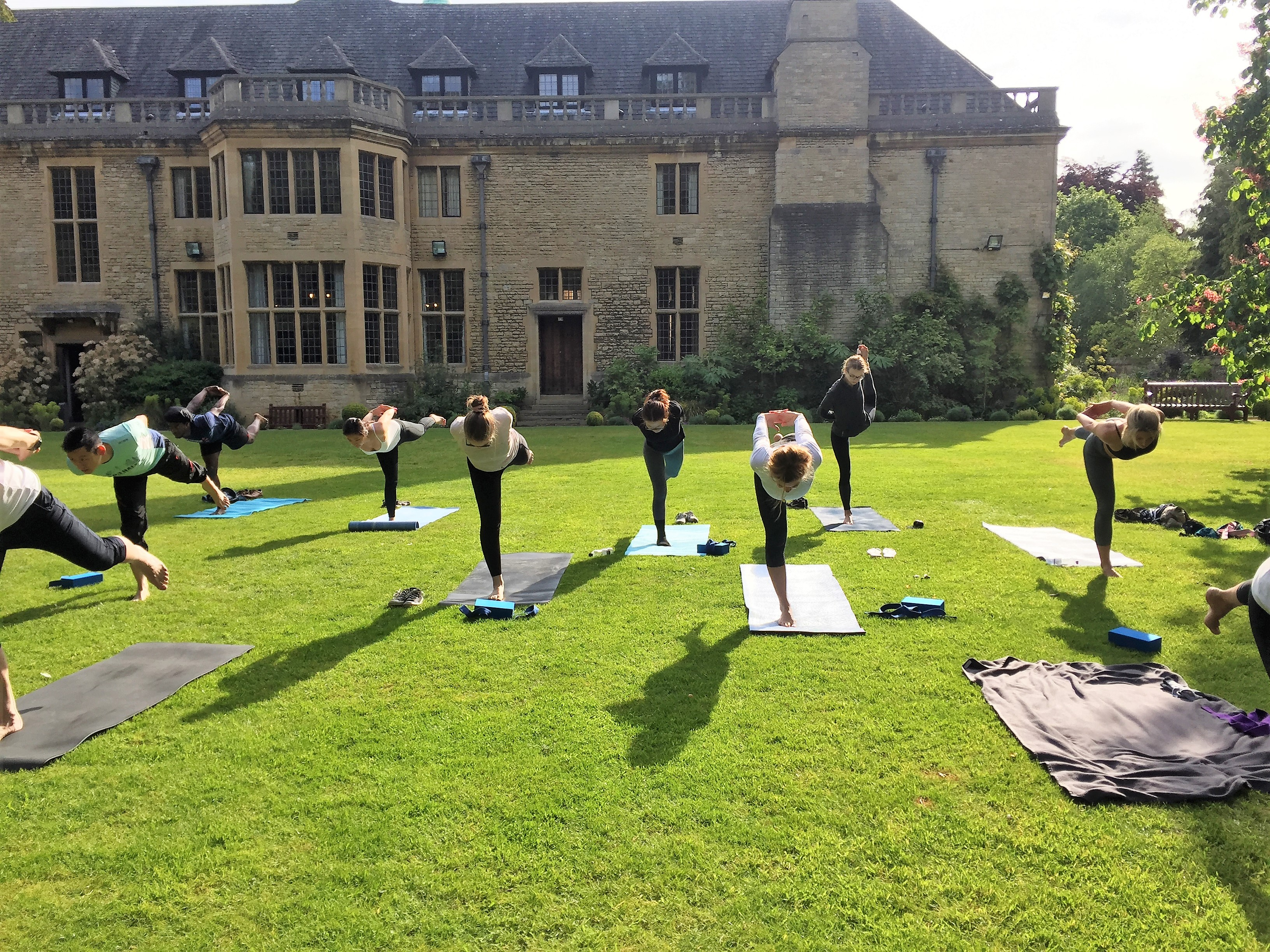 Yoga at Rhodes House for Trinity