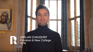 Video Screenshot - Arslan Chaudhry: Rhodes Profile (Pakistan & New College 2016)