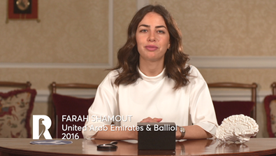 Video Screenshot - Farah Shamout: Rhodes Scholar Research in 60 Seconds