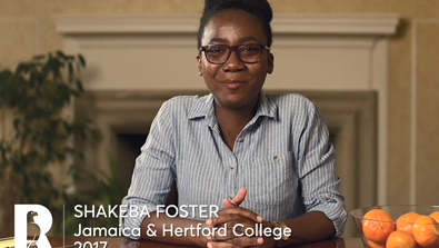 Video Screenshot - Shakeba Foster: Rhodes Scholar Research in 60 Seconds
