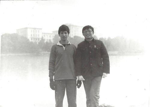 Michael Szonyi at Huazhong Institute of Technology (currently Huazhong University of Science and Technology) in Wuhan, China, 1984.