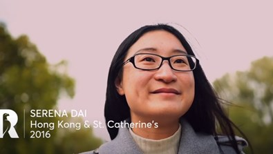 Video Screenshot - Serena Dai: Rhodes Profile (Hong Kong & St Catherine's 2016)