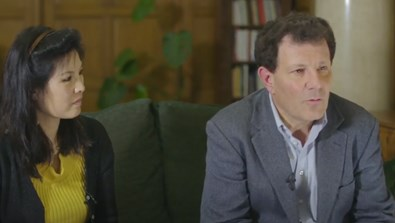 Video Screenshot - Rhodes Ahead: Nick Kristof and Sheryl WuDunn interview